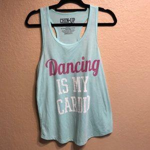 Dancing is my Cardio Tank Top
